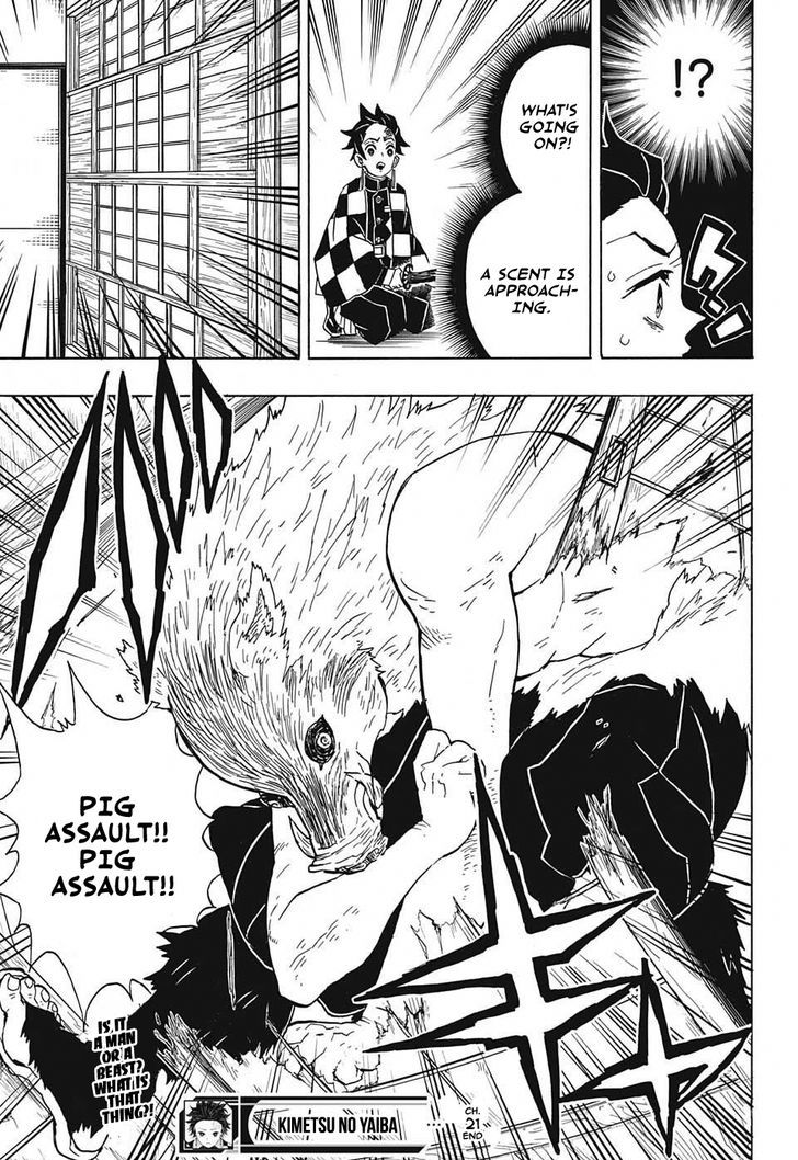 Kimetsu no Yaiba Chapter 21  Online Free Manga Read Image 19