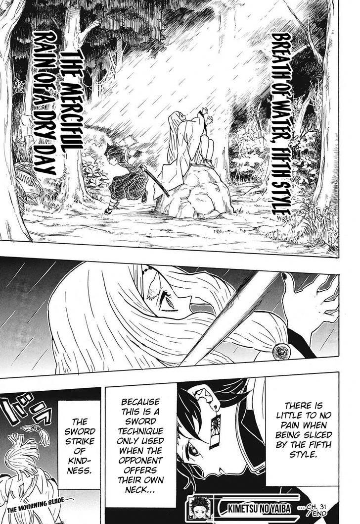 Kimetsu no Yaiba Chapter 31  Online Free Manga Read Image 19