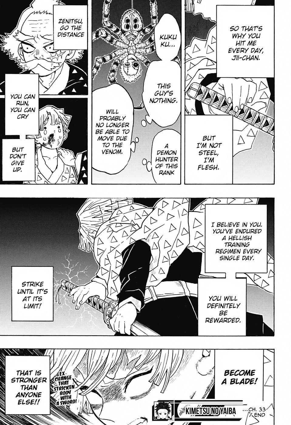 Kimetsu no Yaiba Chapter 33  Online Free Manga Read Image 19