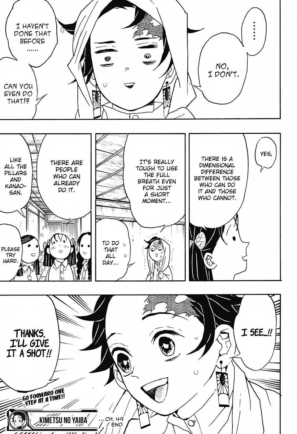 Kimetsu no Yaiba Chapter 49  Online Free Manga Read Image 20