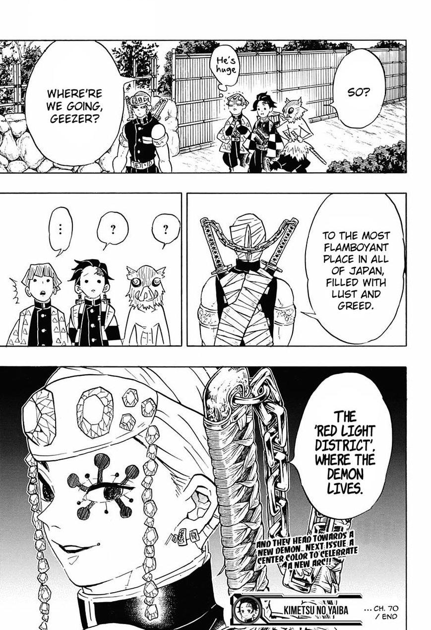 Kimetsu no Yaiba Chapter 70  Online Free Manga Read Image 19