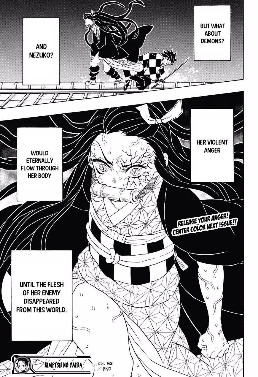 Kimetsu no Yaiba Chapter 82  Online Free Manga Read Image 19