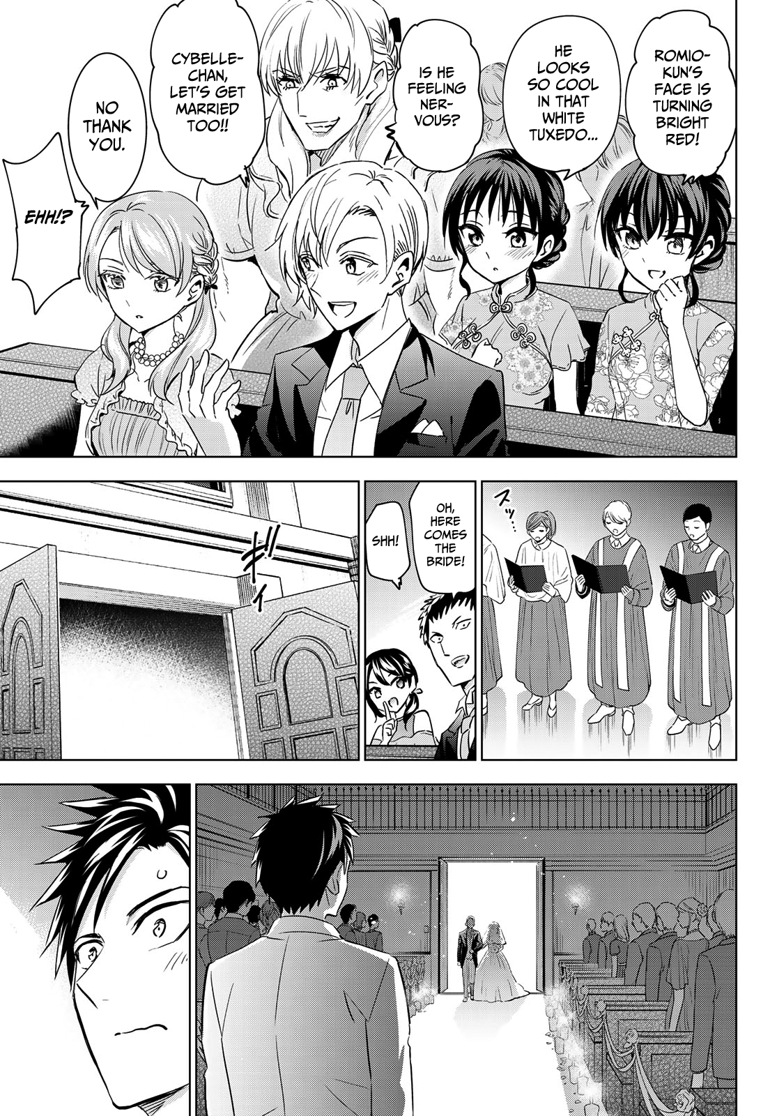 Kishuku Gakkou No Juliet Chapter 119  Online Free Manga Read Image 14