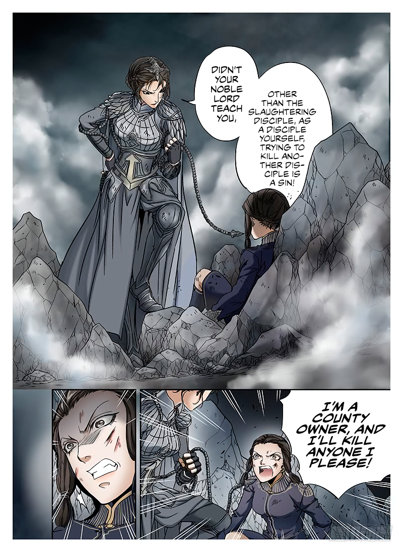 LORD Legend of Ravaging Dynasties Chapter 10.1  Online Free Manga Read Image 10