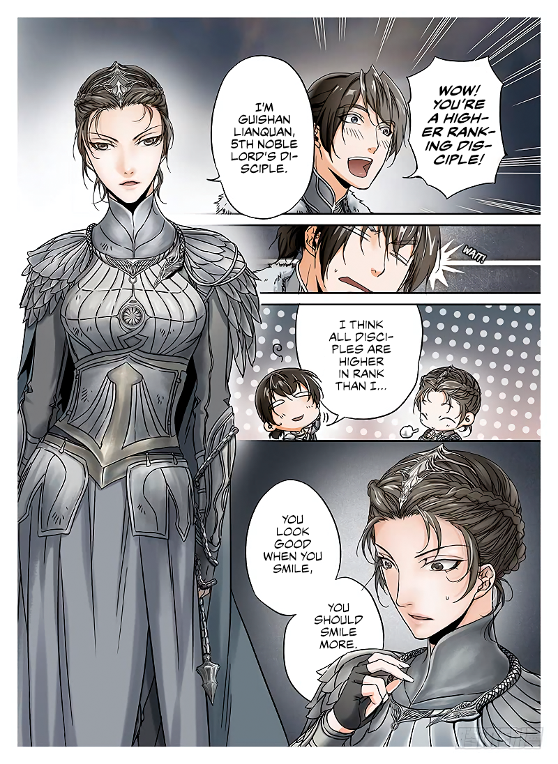 LORD Legend of Ravaging Dynasties Chapter 10  Online Free Manga Read Image 9