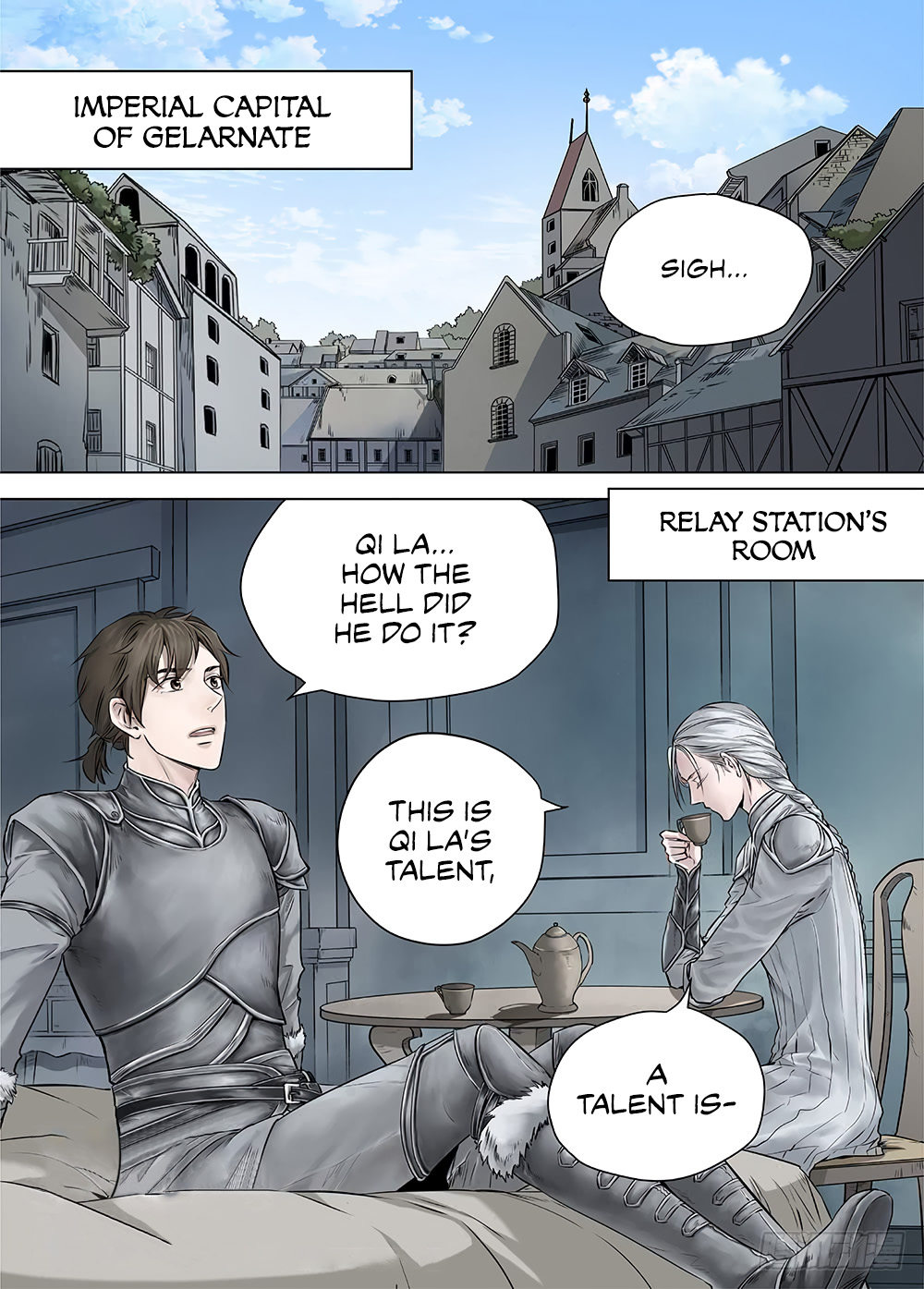 LORD Legend of Ravaging Dynasties Chapter 18.1  Online Free Manga Read Image 3