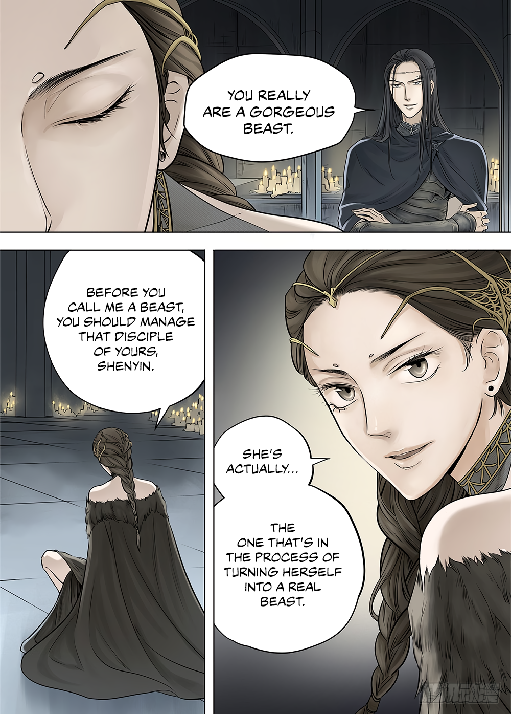 LORD Legend of Ravaging Dynasties Chapter 21  Online Free Manga Read Image 7
