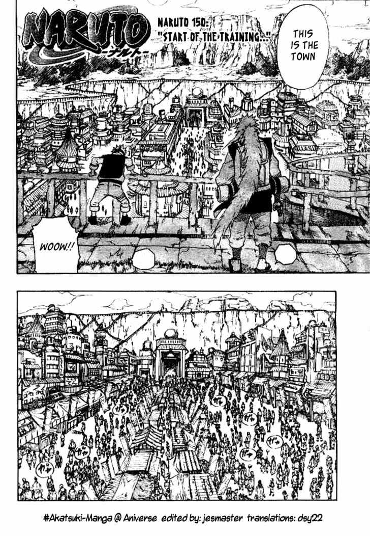 Naruto Chapter 150 Full Manga Read Scan Image 2