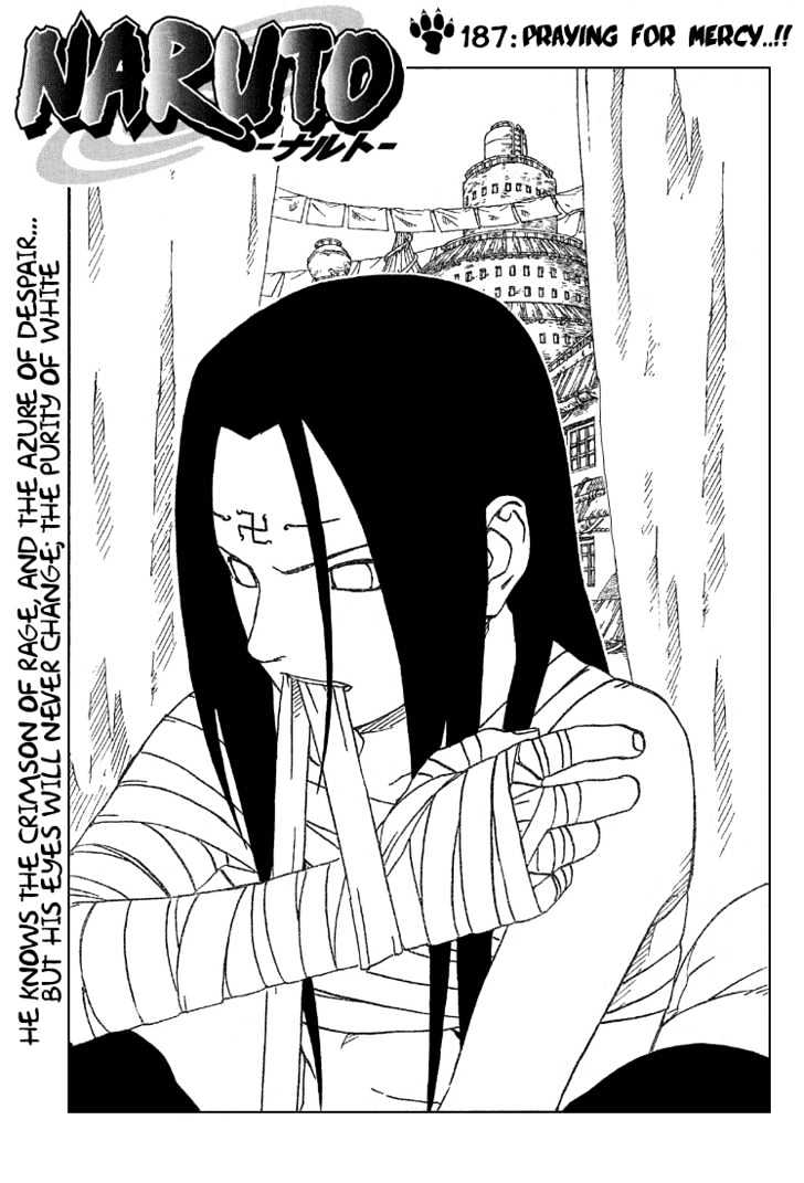 Naruto Chapter 187 Full Manga Read Scan Image 1