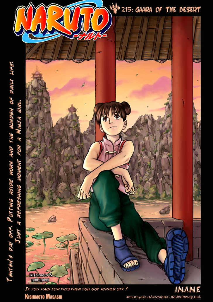 Naruto Chapter 215 Full Manga Read Scan Image 4