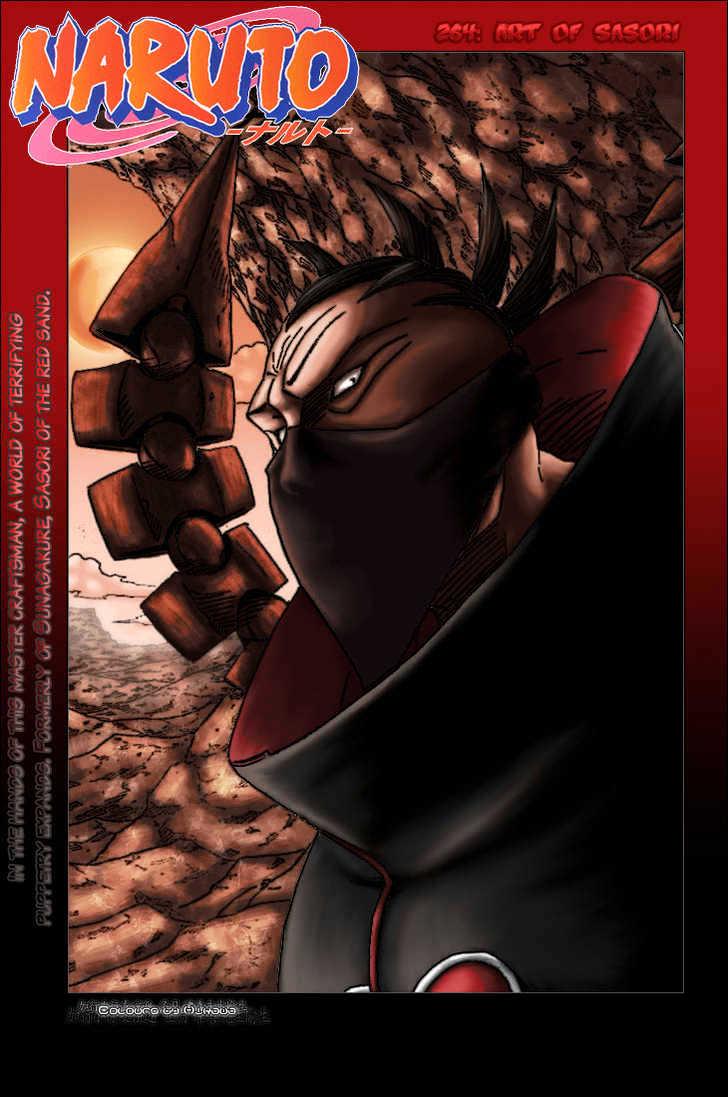 Naruto Chapter 264 Full Manga Read Scan Image 2