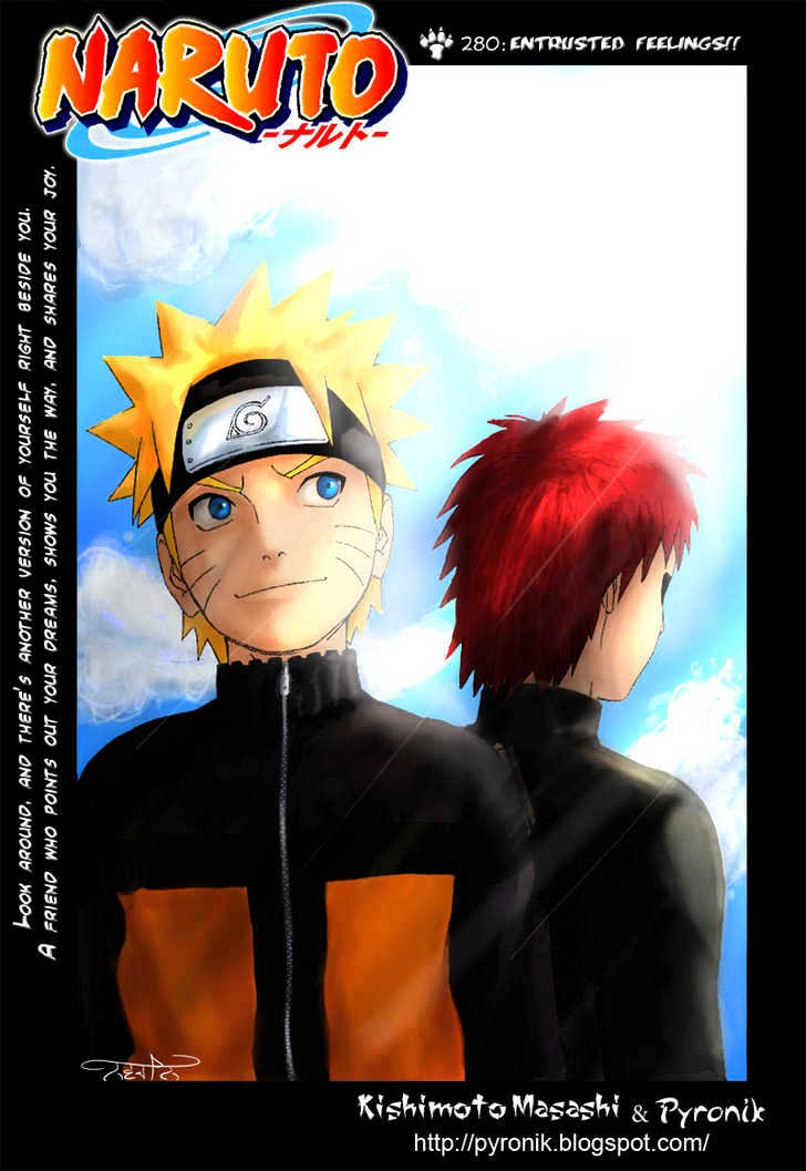 Naruto Chapter 280 Full Manga Read Scan Image 2