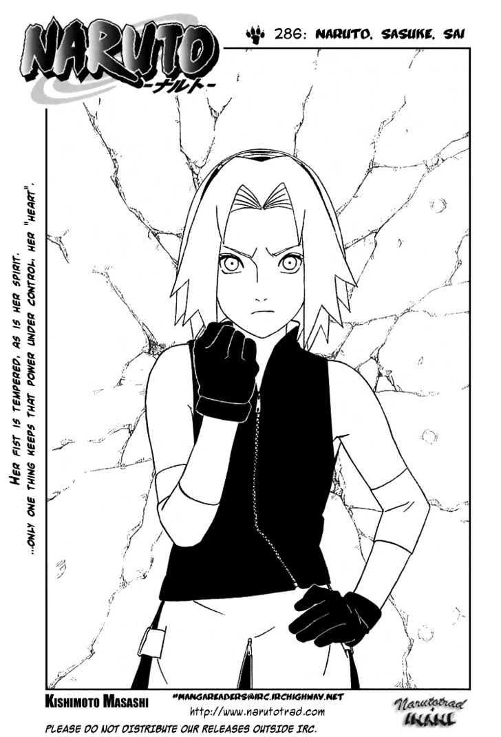 Naruto Chapter 286 Full Manga Read Scan Image 1