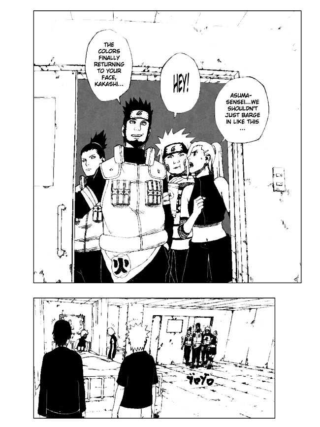 Naruto Chapter 312 Full Manga Read Scan Image 3