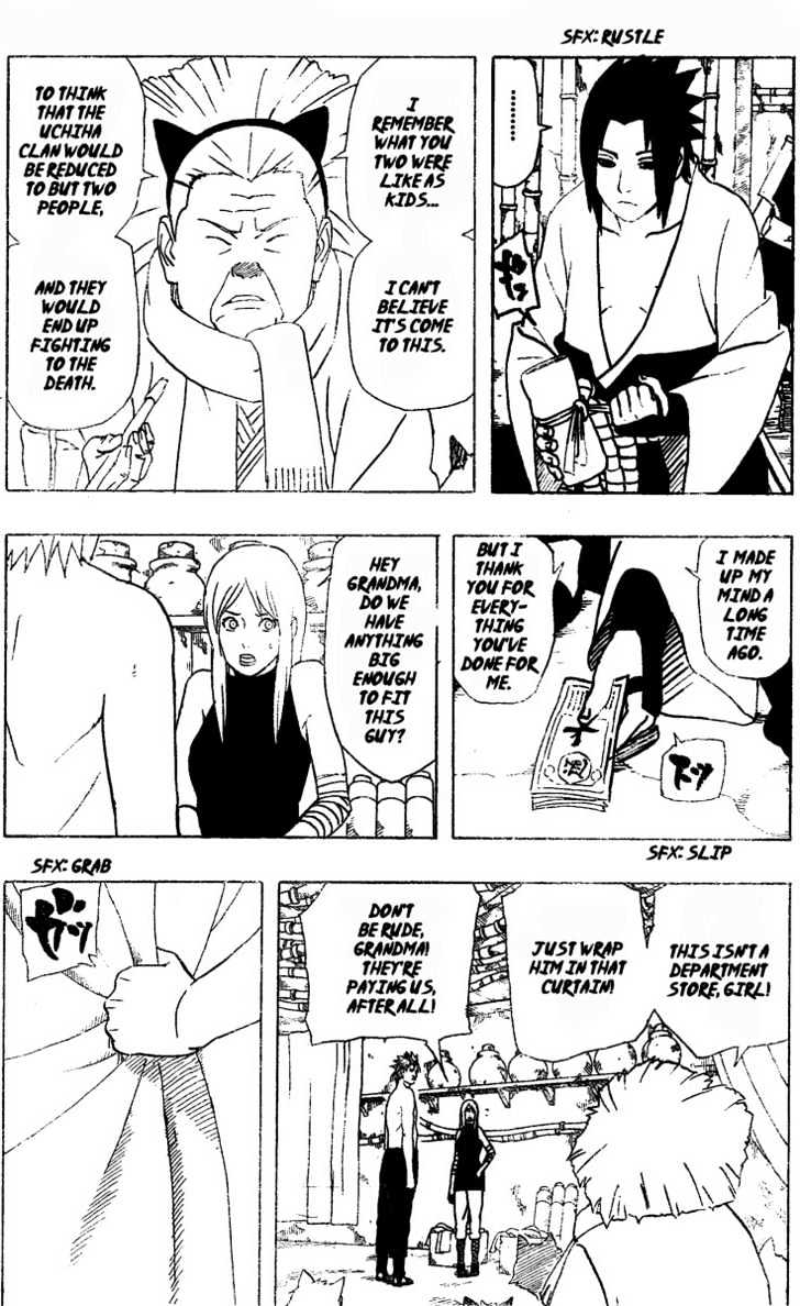 Naruto Chapter 354 Full Manga Read Scan Image 9