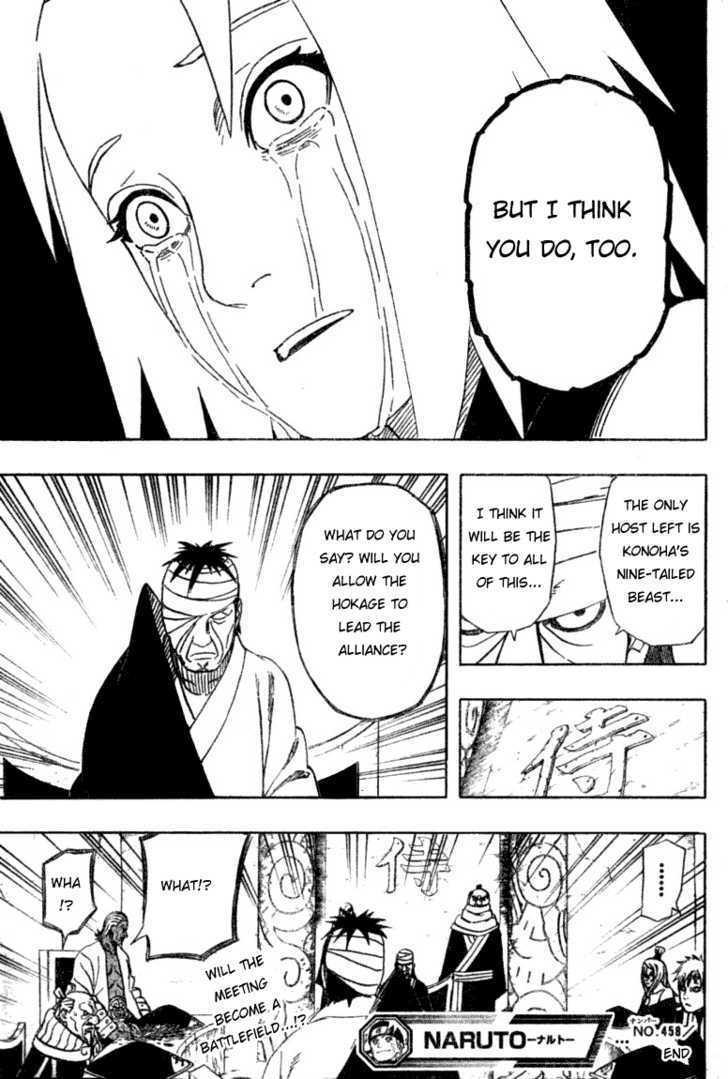 Naruto Chapter 458 Full Manga Read Scan Image 16