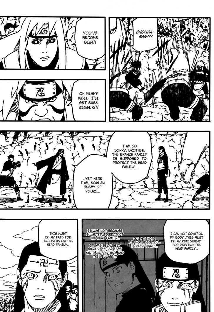 Naruto Chapter 526 Full Manga Read Scan Image 12