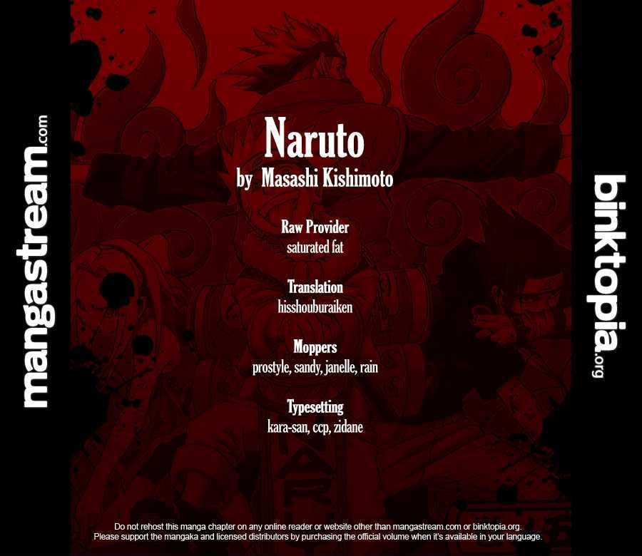 Naruto Chapter 535 Full Manga Read Scan Image 3