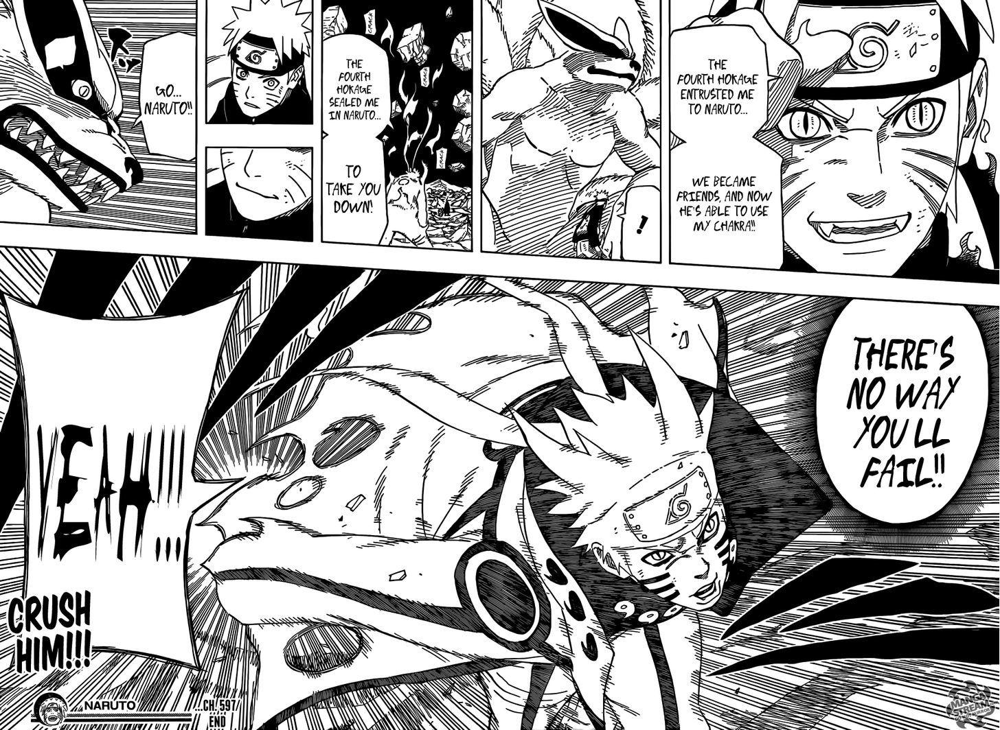 Naruto Chapter 597 Full Manga Read Scan Image 25