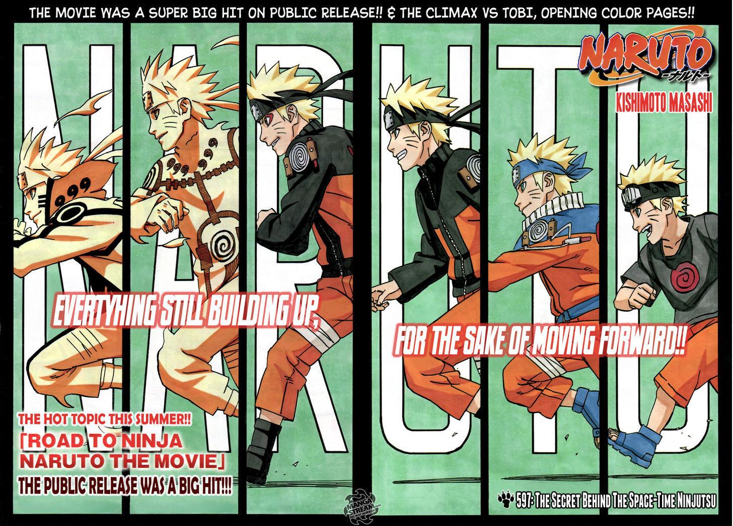 Naruto Chapter 597 Full Manga Read Scan Image 8