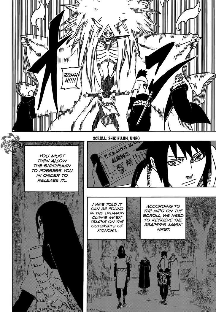 Naruto Chapter 618 Full Manga Read Scan Image 12