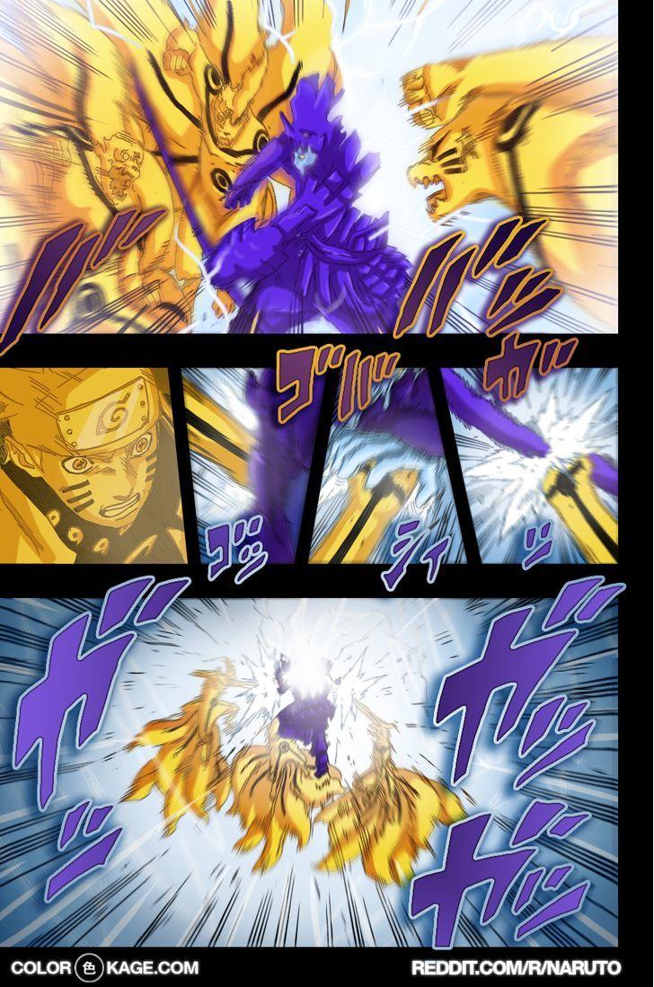 Naruto Chapter 696.1 Full Manga Read Scan Image 11