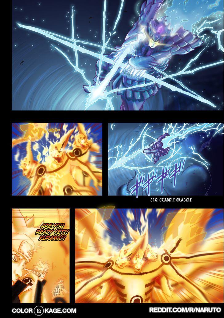 Naruto Chapter 696.1 Full Manga Read Scan Image 14