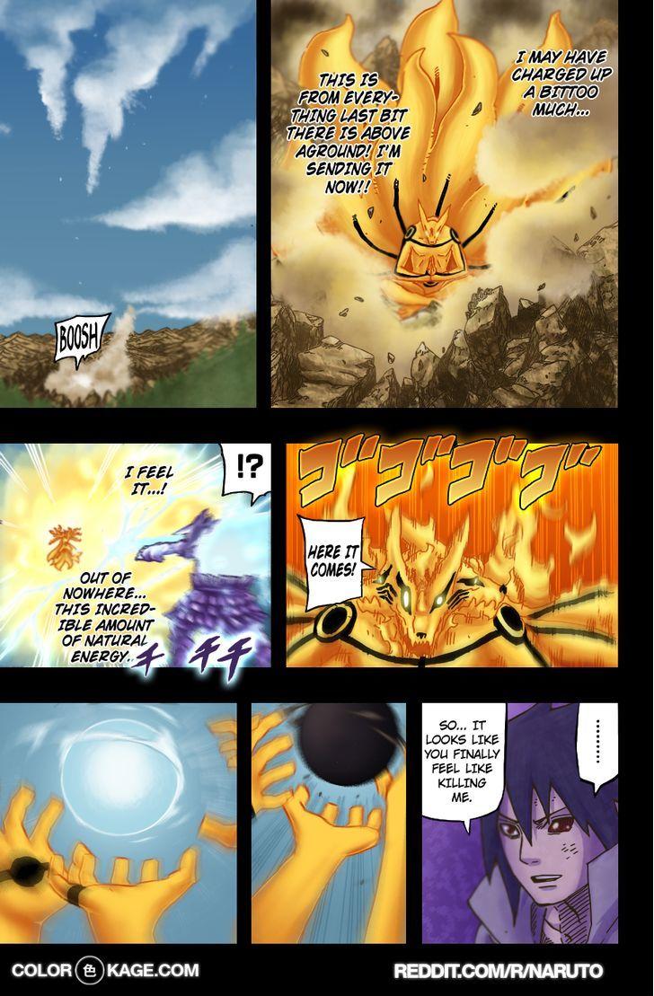 Naruto Chapter 696.1 Full Manga Read Scan Image 15