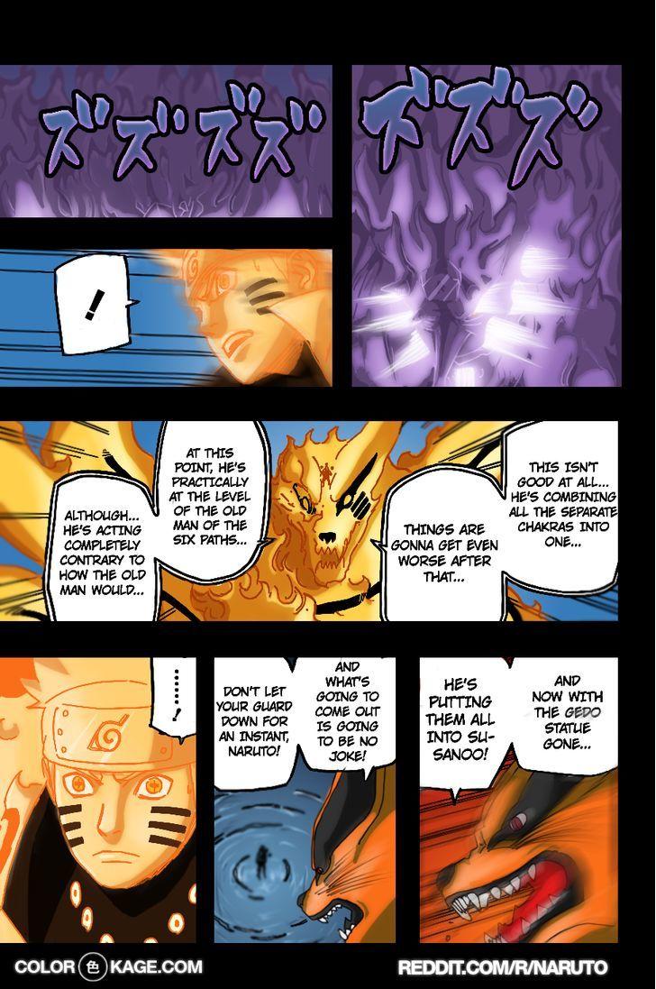 Naruto Chapter 696.1 Full Manga Read Scan Image 8