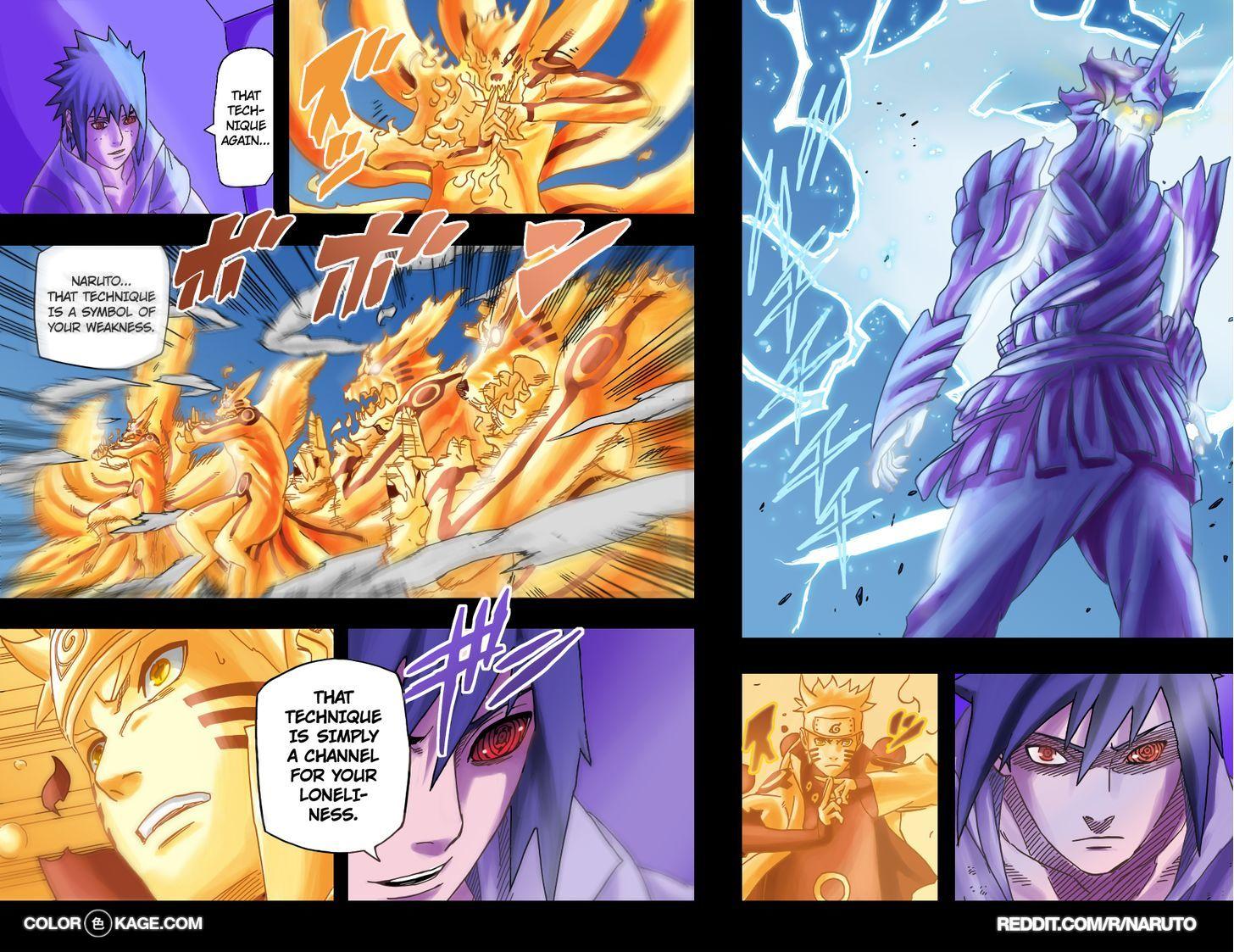 Naruto Chapter 696.1 Full Manga Read Scan Image 9