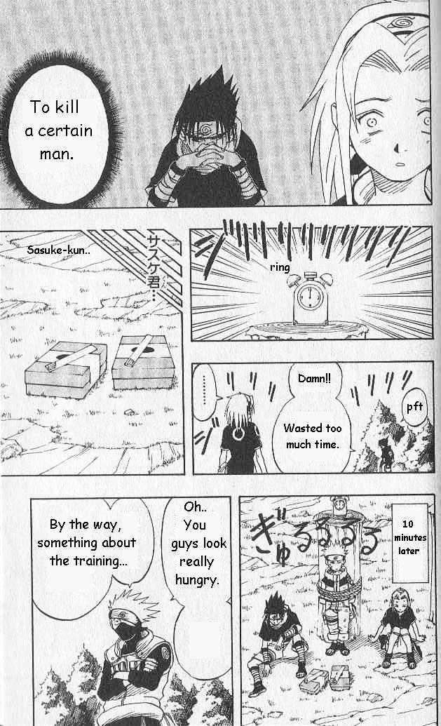 Naruto Chapter 7 Full Manga Read Scan Image 17