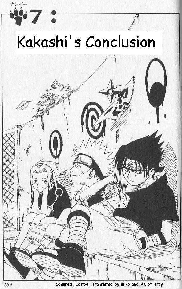 Naruto Chapter 7 Full Manga Read Scan Image 2