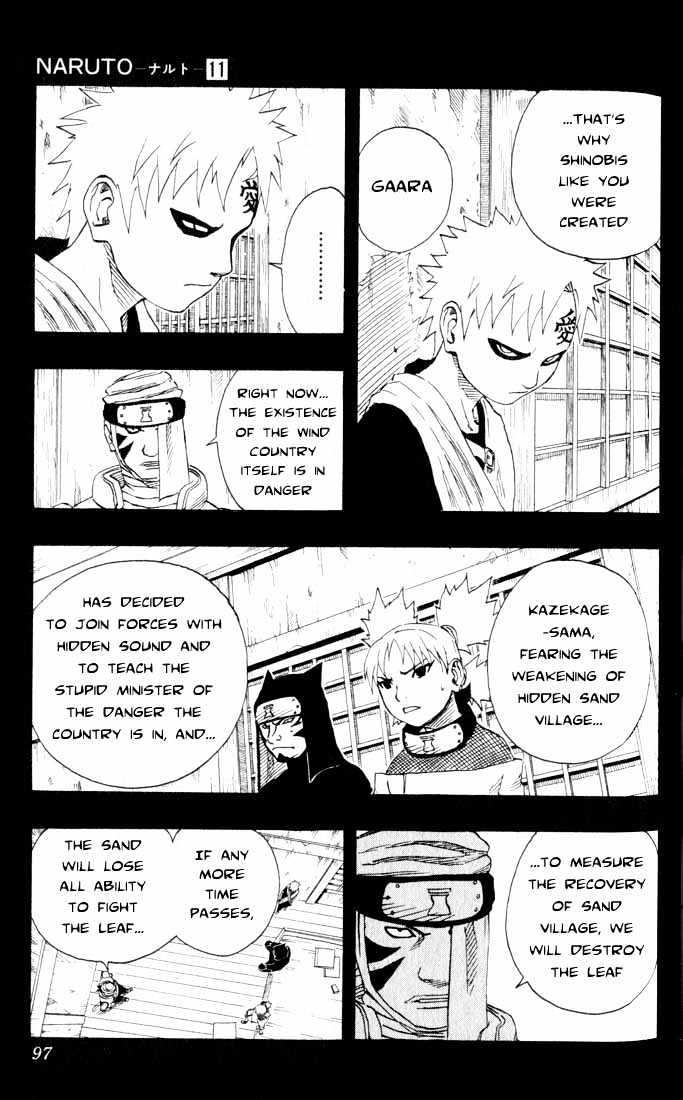 Naruto Chapter 95 Full Manga Read Scan Image 11