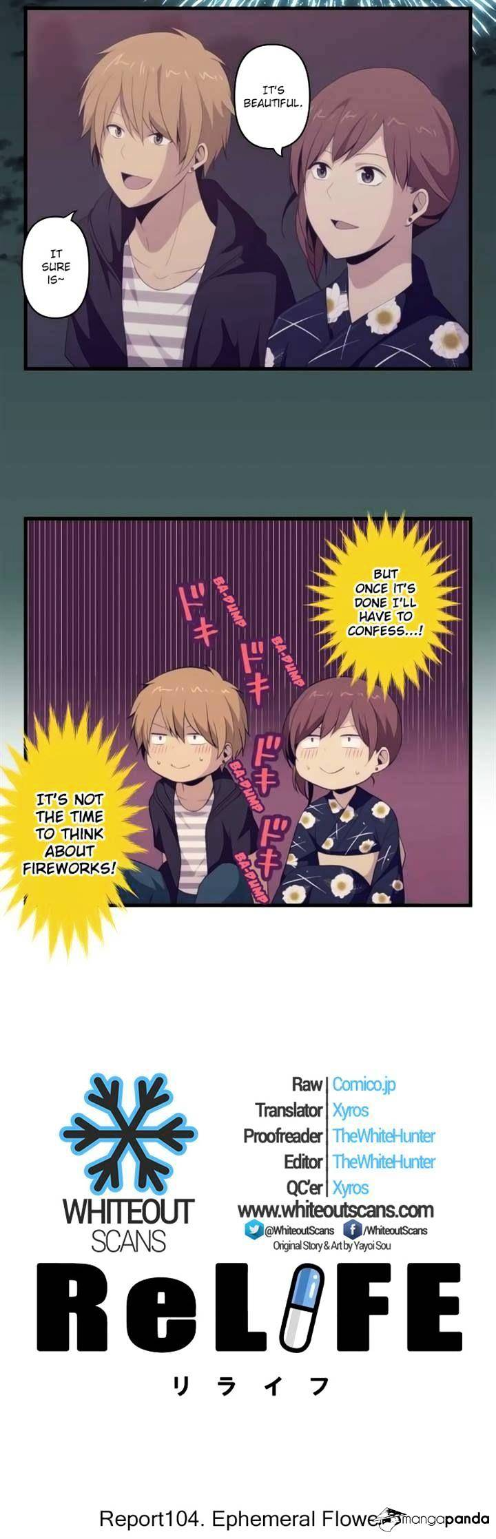 ReLIFE Chapter 104  Online Free Manga Read Image 2