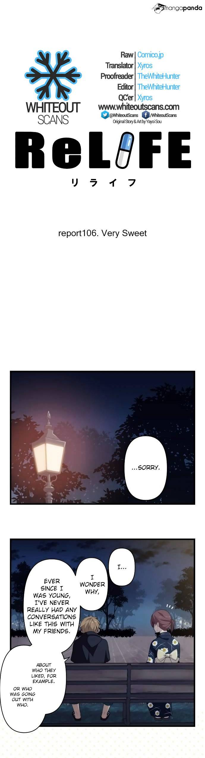 ReLIFE Chapter 106  Online Free Manga Read Image 4