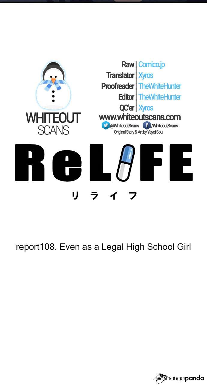 ReLIFE Chapter 108  Online Free Manga Read Image 3