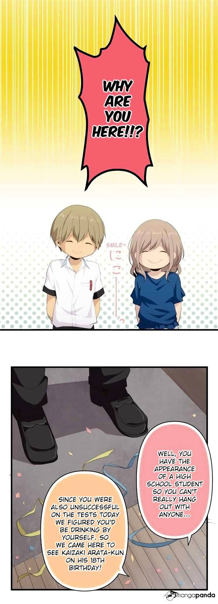 ReLIFE Chapter 109.2  Online Free Manga Read Image 14
