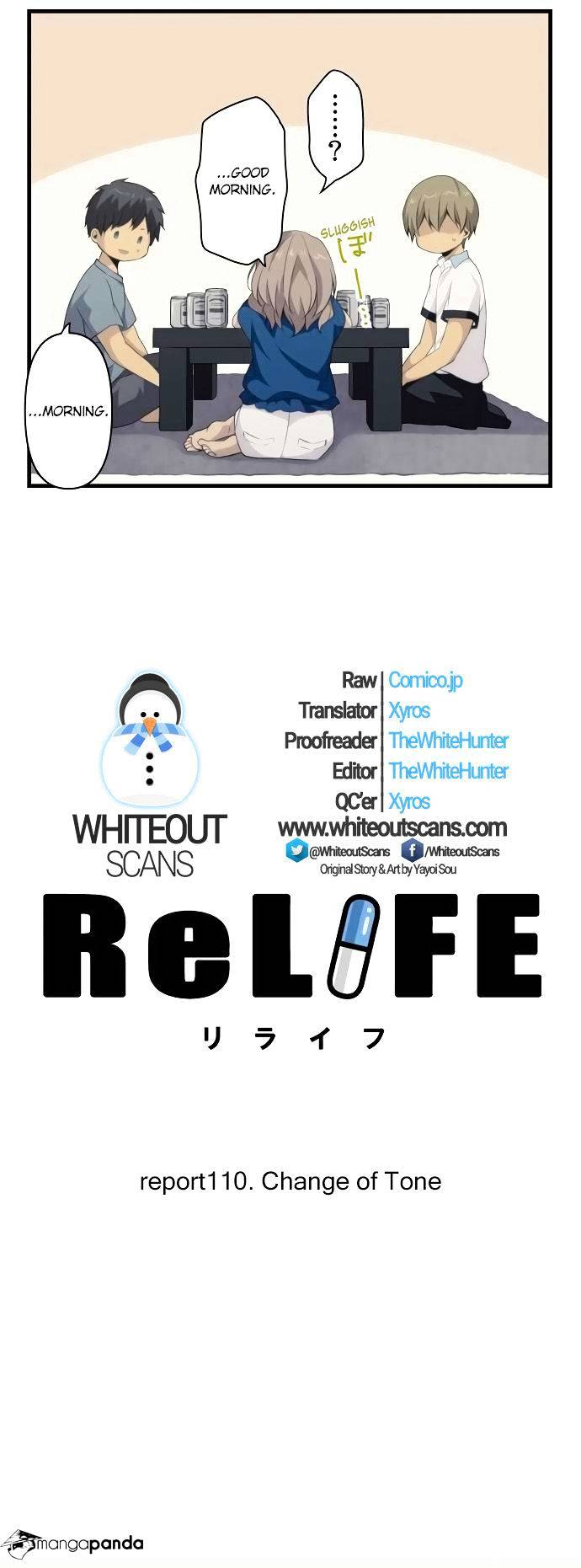 ReLIFE Chapter 110  Online Free Manga Read Image 4