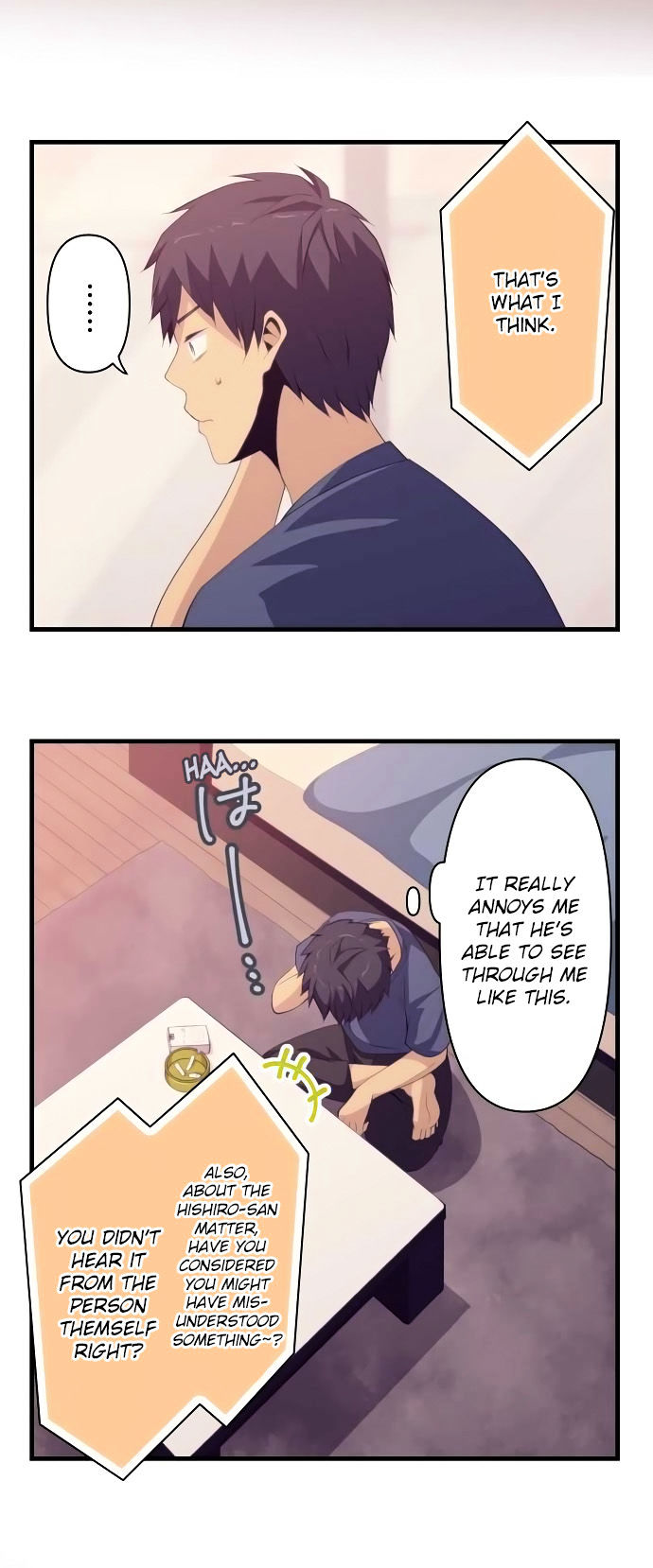 ReLIFE Chapter 127  Online Free Manga Read Image 8