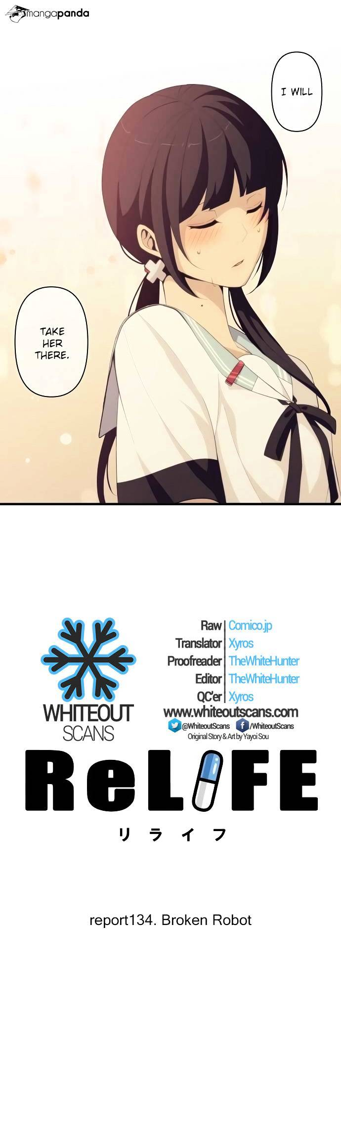 ReLIFE Chapter 134  Online Free Manga Read Image 4