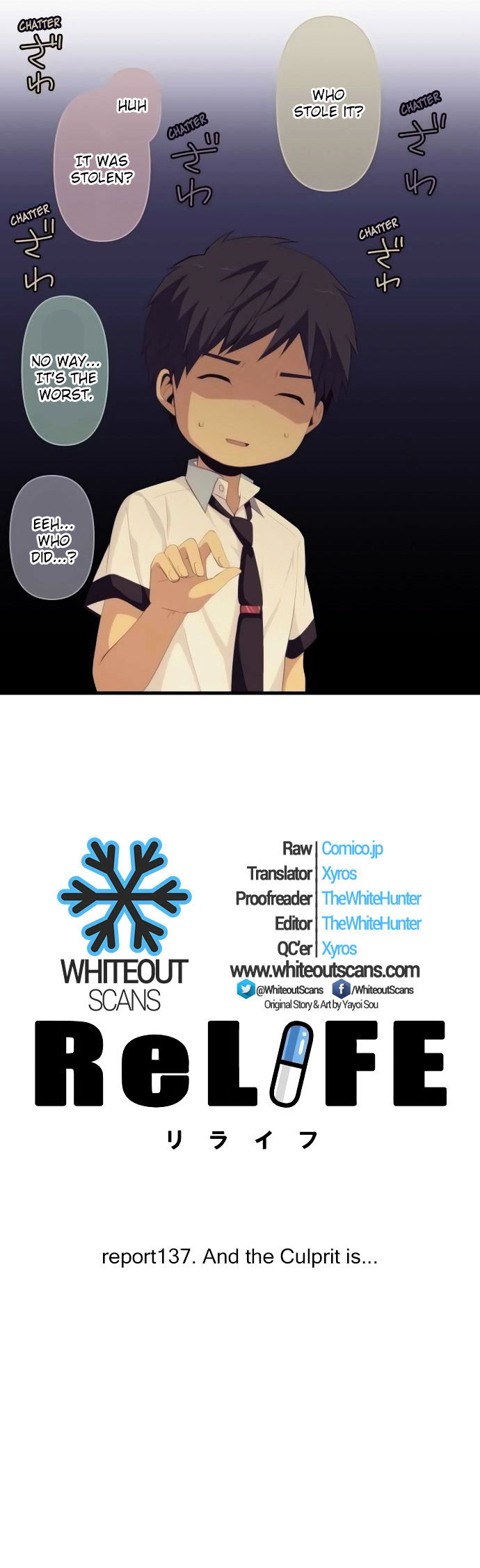 ReLIFE Chapter 137  Online Free Manga Read Image 2