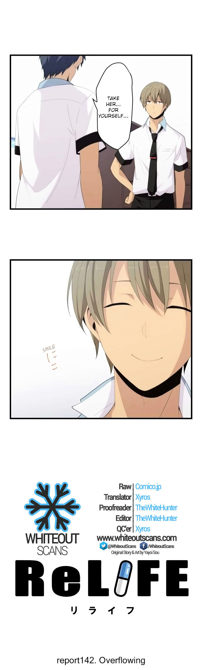 ReLIFE Chapter 142  Online Free Manga Read Image 2