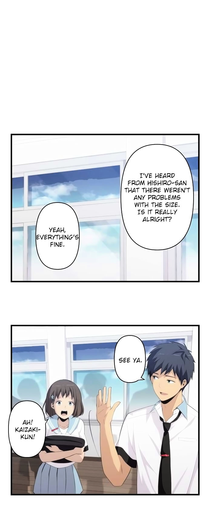 ReLIFE Chapter 143  Online Free Manga Read Image 2
