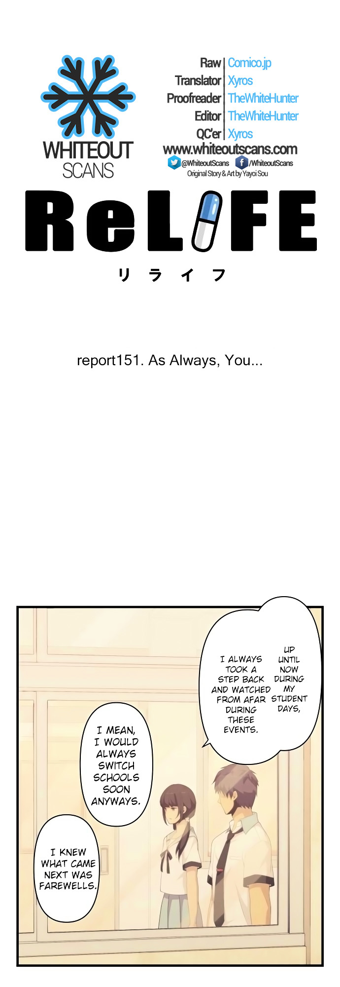 ReLIFE Chapter 151.2  Online Free Manga Read Image 3