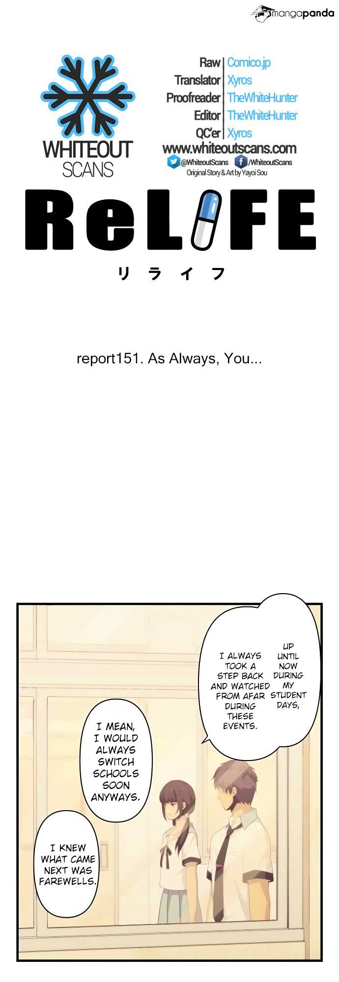 ReLIFE Chapter 151  Online Free Manga Read Image 3