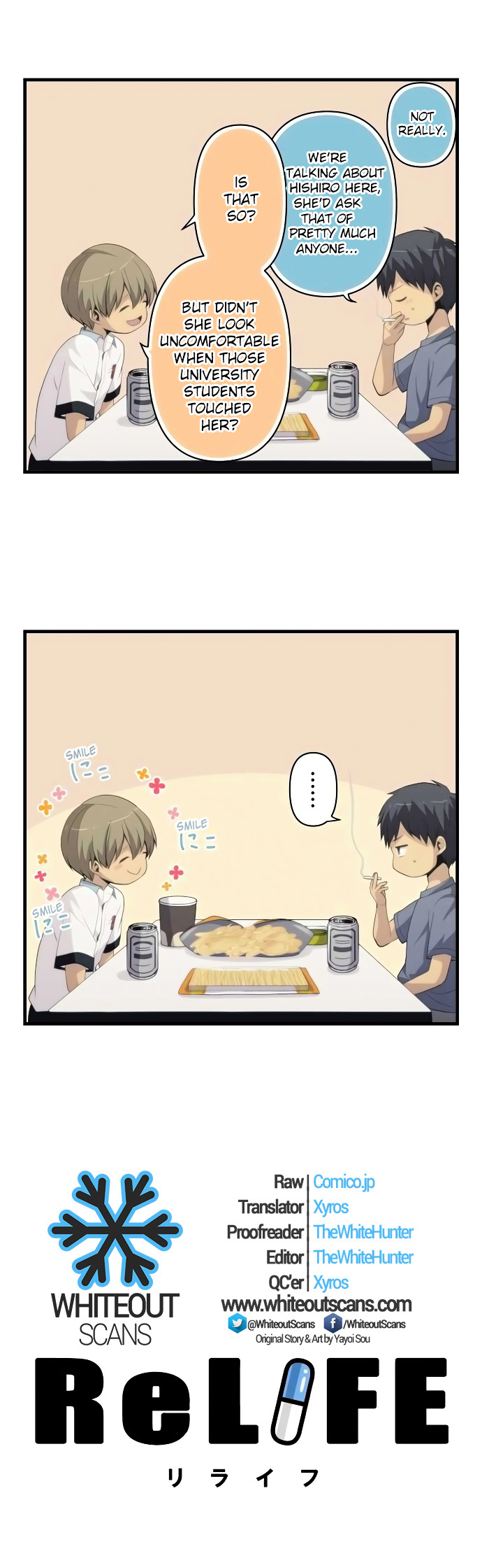 ReLIFE Chapter 154  Online Free Manga Read Image 2