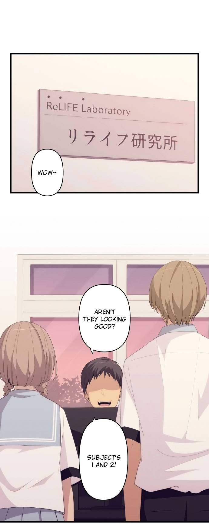 ReLIFE Chapter 155  Online Free Manga Read Image 1
