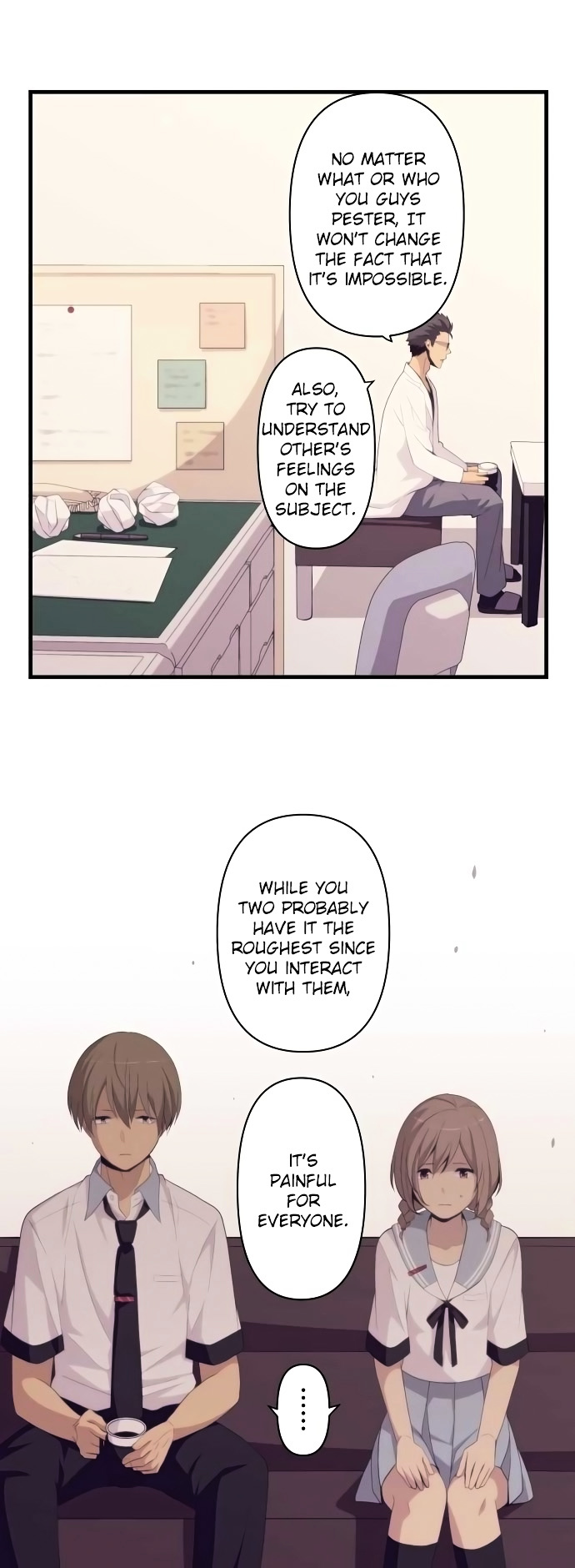 ReLIFE Chapter 155  Online Free Manga Read Image 15