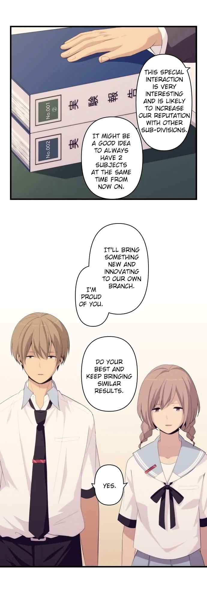 ReLIFE Chapter 155  Online Free Manga Read Image 2