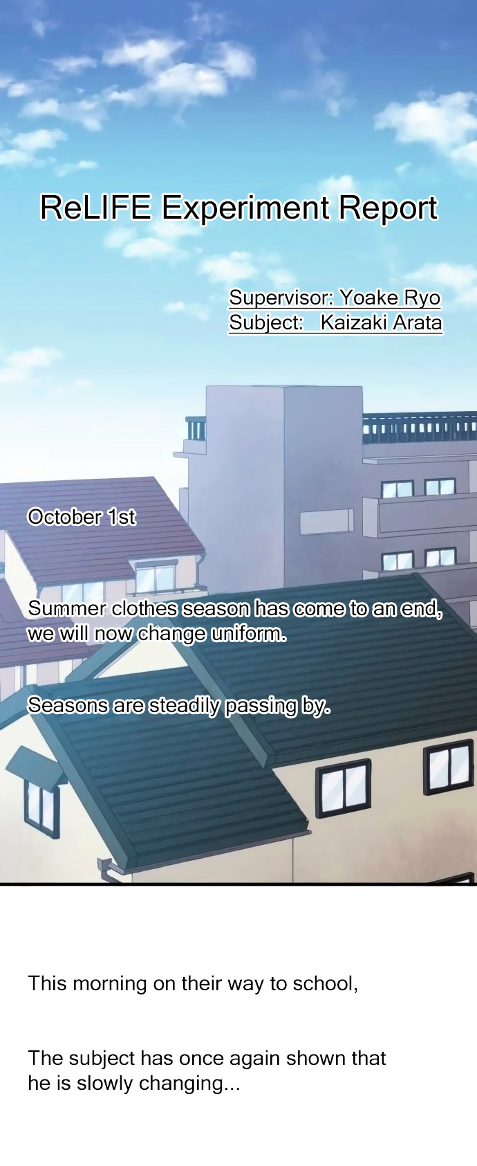ReLIFE Chapter 156  Online Free Manga Read Image 1